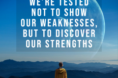 inspirational weakness vs strength quote